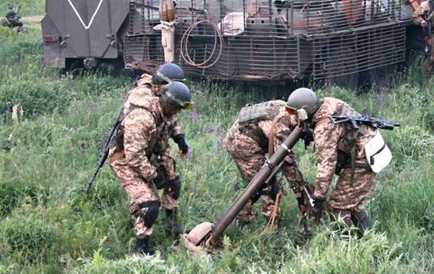 Бои под Горловкой и обстрел Луганщины. Карта АТО за 16 июня