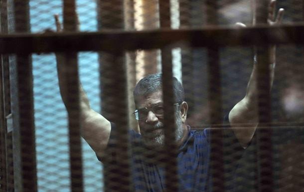 Суд Єгипту підтвердив смертний вирок екс-президенту Мурсі