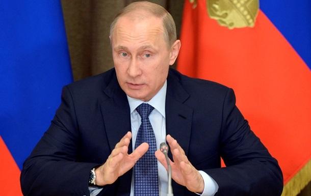 Путін: ДНР і ЛНР готові до діалогу для реалізації Мінських угод