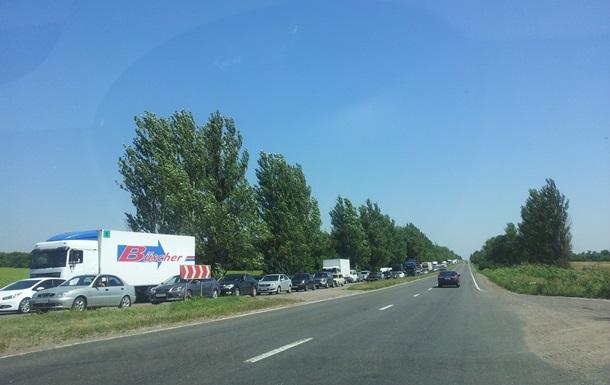 ГАИ открыла некоторые трассы в Донецк