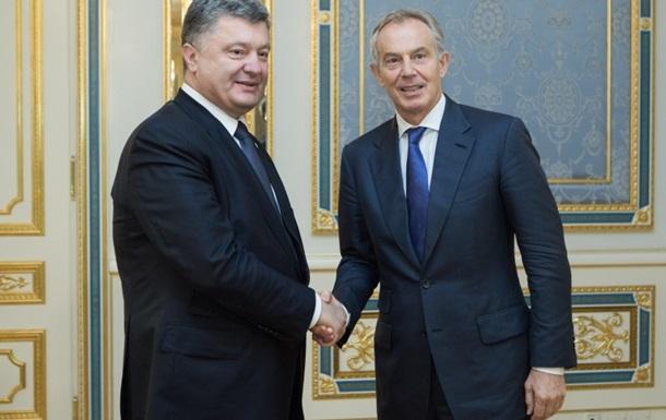 Порошенко запропонував Тоні Блеру роботу в Україні