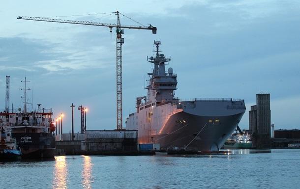 Россия получила от Франции часть технологий строительства Мистралей