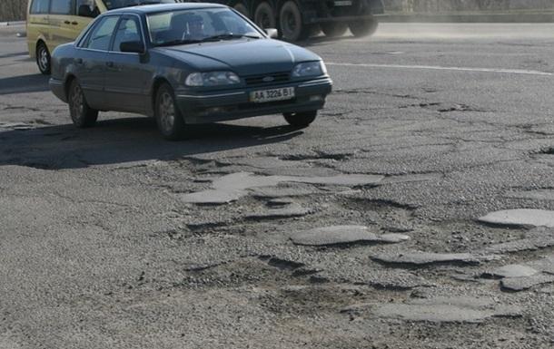 Дороги в Украине хотят ремонтировать за счет штрафов