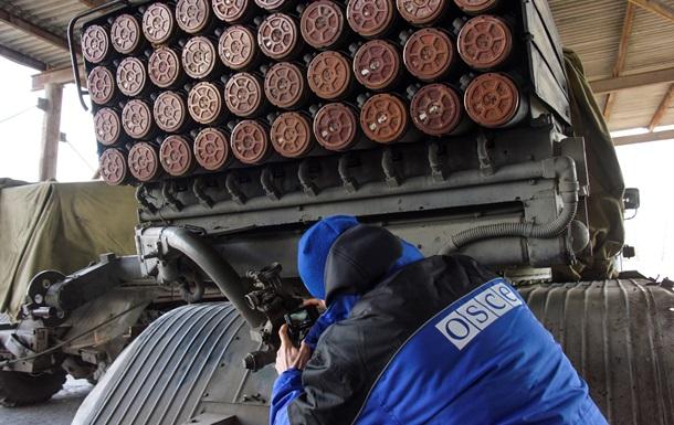 За выходные наблюдатели ОБСЕ насчитали около 700 взрывов в зоне АТО
