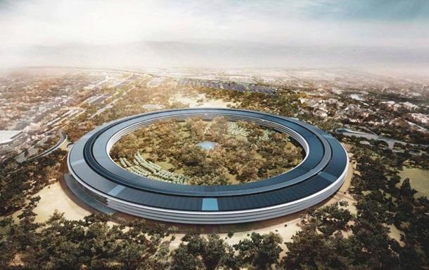 Энтузиасты показали 5k-ролик о строительстве нового кампуса Apple