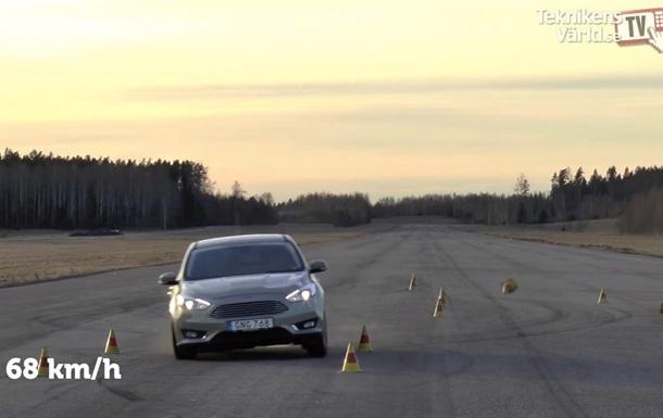 Шведские эксперты устроили  лосиный тест  для Ford, Nissan и Seat