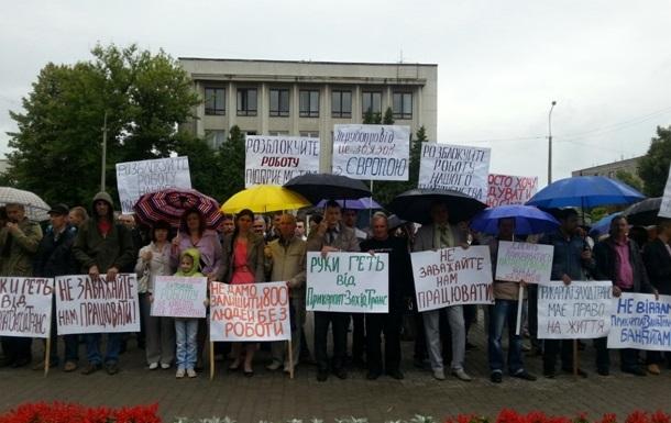 В Ровно суд позволил разблокировать работу российского трубопровода