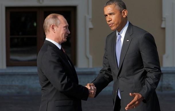 Путин и Обама обсудили ситуацию в Украине