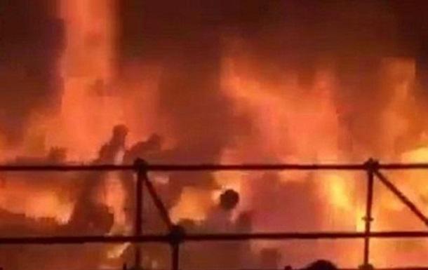 Появилось видео с моментом взрыва на Тайване