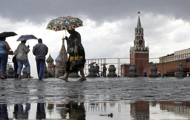 В выходные на Москву обрушились рекордные ливни