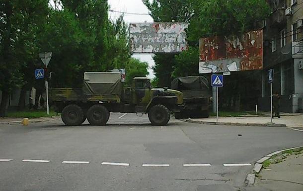 В Донецке сепаратисты на грузовике устроили ДТП, есть погибшие - СМИ