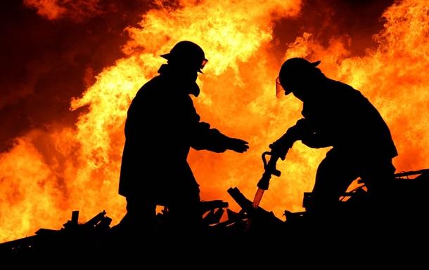 У результаті обстрілу в районі Попасної згоріла АЗС