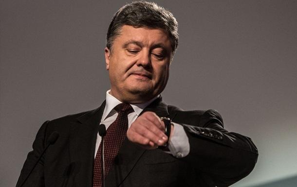 Порошенко назвал срок подготовки к референдуму о вступлении в НАТО