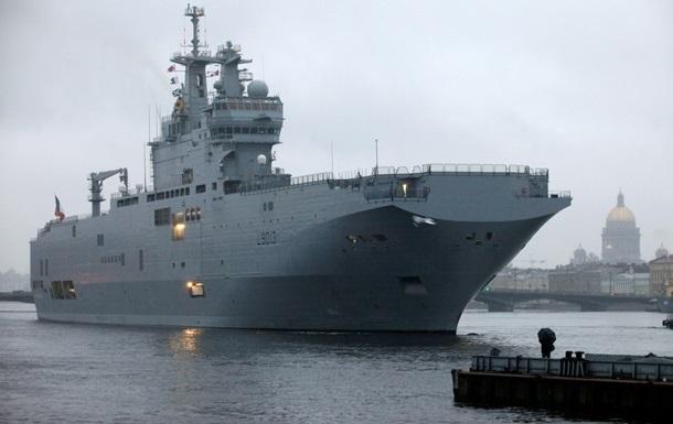 Россия и Франция согласовали размер неустойки по Мистралям