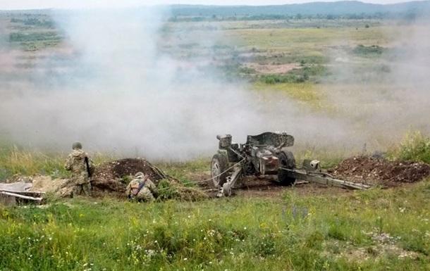 На Луганщине обострились бои. Карта АТО за 3 июля