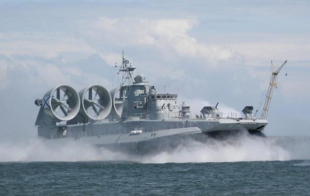 Росія доставить Китаю українські кораблі  Зубр