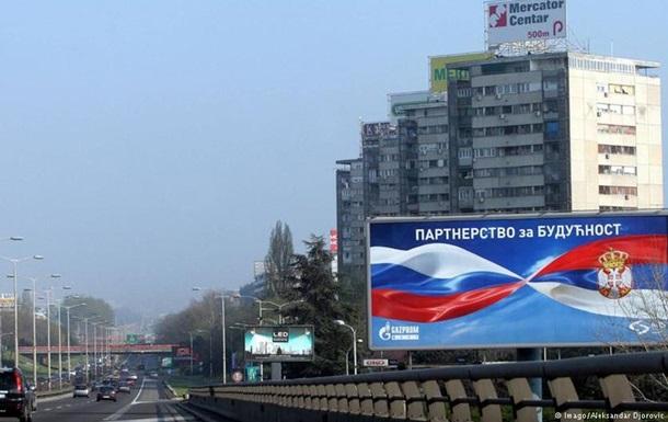 Сербия за сближение с Россией и против санкций