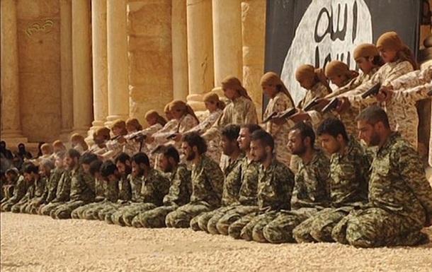 Подростки из ИГИЛ казнили 25 солдат в амфитеатре Пальмиры