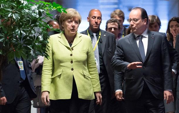 Меркель и Олланд уже завтра оценят результаты референдума в Греции