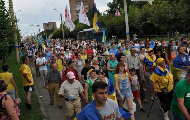 В Краматорске отметили годовщину освобождения от сепаратистов