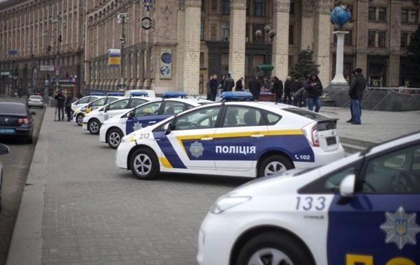 Новая киевская милиция: за сутки разбито четыре машины