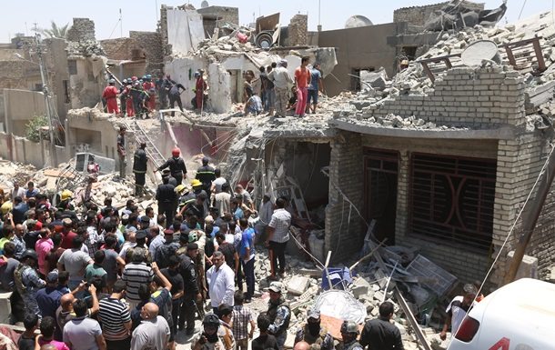 Літак ВПС Іраку помилково скинув бомбу на Багдад