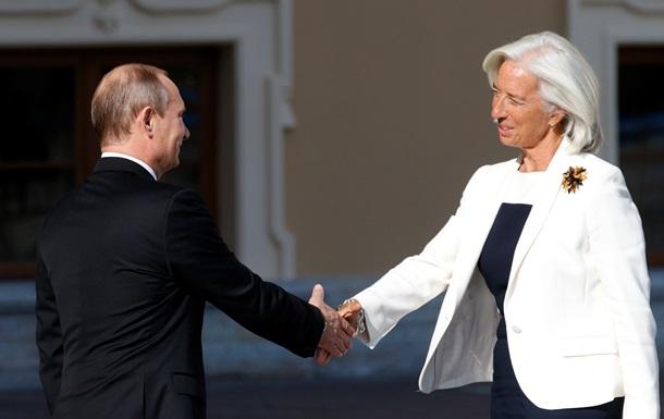 Путин обсудил с главой МВФ греческий кризис