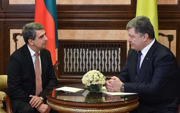 Президент Болгарии впервые за 12 лет прибыл в Украину