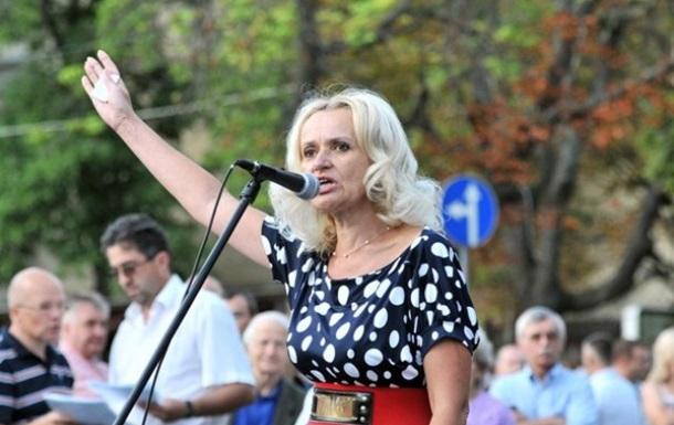 Против Фарион возбудили дело за призывы убивать россиян