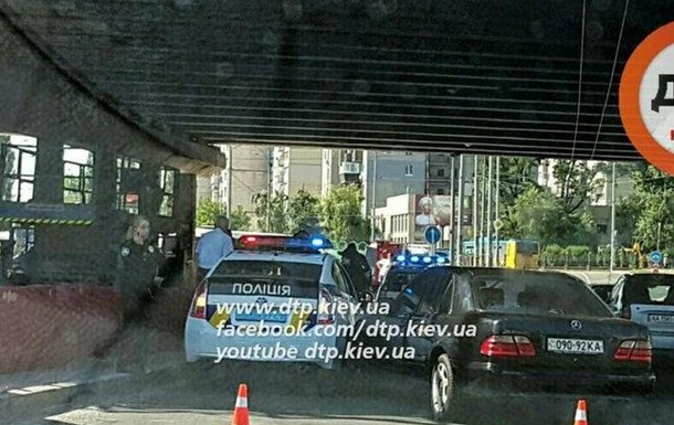 Новые полицейские Киева снова угодили в аварию