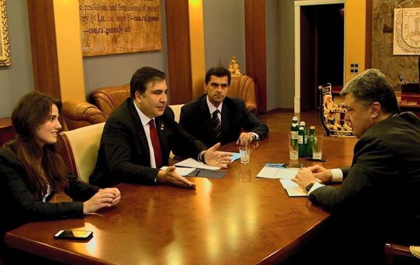 Саакашвили назначил своим заместителем 25-летнюю активистку