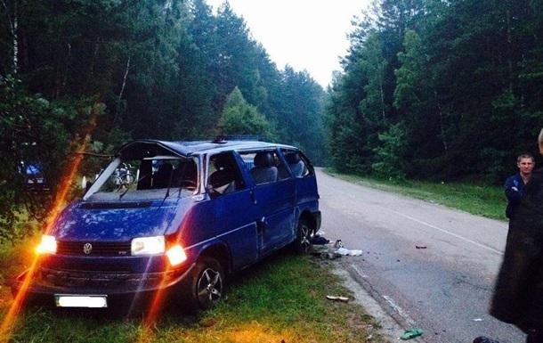 Крупное ДТП на Черниговщине: двое погибших и семеро раненых