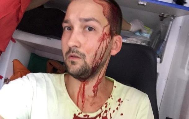 В Киеве битой избили велосипедиста