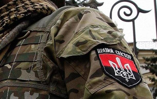 Правый сектор в Мукачево назвал условия сдачи оружия