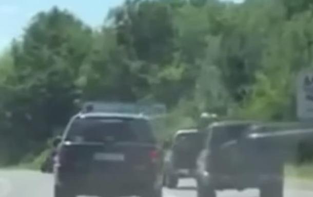 Стрельба в Мукачево: Геращенко опубликовал видео начала инцидента
