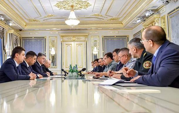 Порошенко пообещал разоружить украинские партии