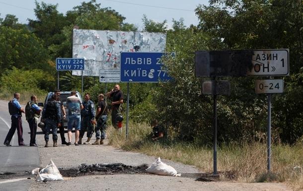 В Мукачево началась операция по задержанию Правого сектора