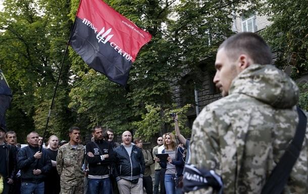 В Правом секторе подтвердили смерть одного бойца в Мукачево