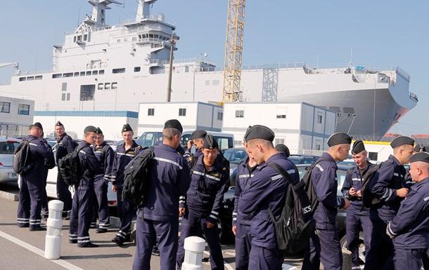 Россия расформировала экипажи непоставленных Мистралей – СМИ