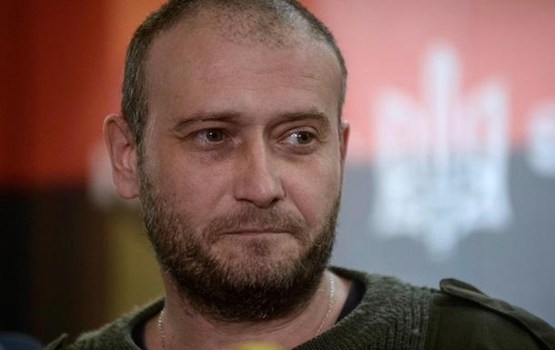 Ярош признал, что несет ответственность за события в Мукачево