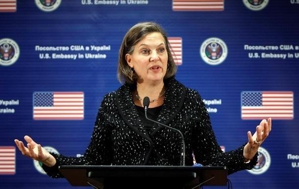 Нуланд: США посилять тиск на РФ у випадку ескалації конфлікту на Донбасі
