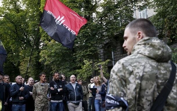 Правый сектор созывает вече на Майдане