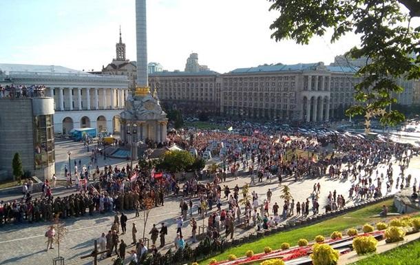 Итоги 21 июля: Вече Правого сектора в Киеве, драка депутатов в Чернигове