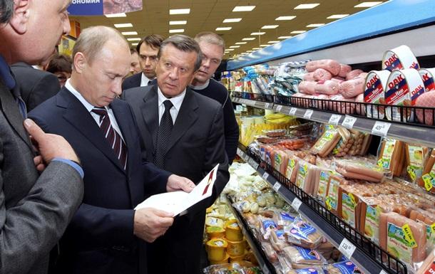 Путин поручил уничтожать на границе продукты, попавшие под санкции