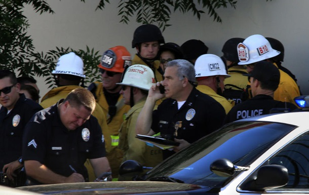 Полицейские застрелили мужчину, открывшего беспорядочный огонь у Голливуда