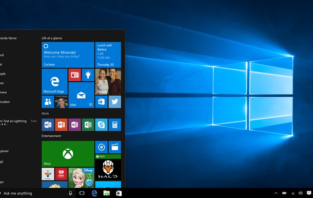 Microsoft почала продажі Windows 10