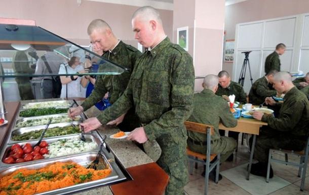 Російських військових в їдальнях годуватимуть за відбитками пальців