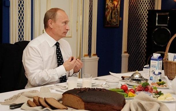 Путін підписав указ про знищення санкційних продуктів