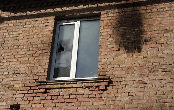 В Киеве подожгли офис КП  Киевтранспарксервис
