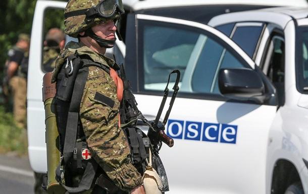 ОБСЕ привиделись российские десантники на Донбассе